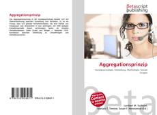 Bookcover of Aggregationsprinzip