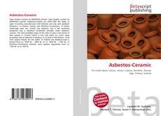 Asbestos-Ceramic kitap kapağı