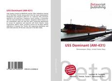 Bookcover of USS Dominant (AM-431)