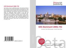 Bookcover of USS Dominant (AMc-76)