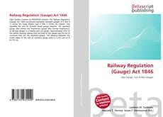 Обложка Railway Regulation (Gauge) Act 1846