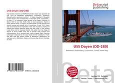 Capa do livro de USS Doyen (DD-280)