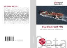 Buchcover von USS Drexler (DD-741)