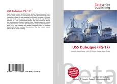 Bookcover of USS Dubuque (PG-17)