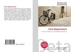 Bookcover of Vera Department