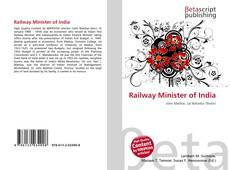 Portada del libro de Railway Minister of India