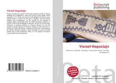 Обложка Yisroel Hopsztajn
