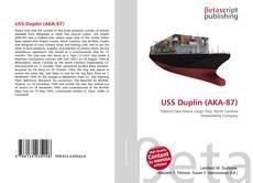 Capa do livro de USS Duplin (AKA-87)