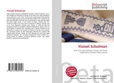 Couverture de Yisroel Schulman