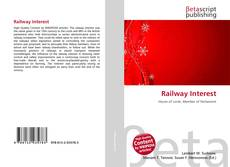 Couverture de Railway Interest