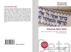 Copertina di Yitzchak Meir Alter