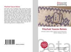 Couverture de Yitzchak Yaacov Reines