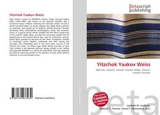 Bookcover of Yitzchok Yaakov Weiss