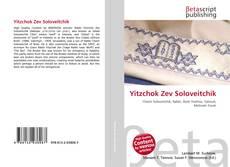 Обложка Yitzchok Zev Soloveitchik