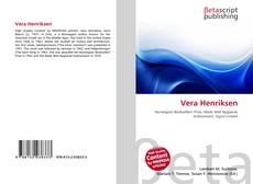 Buchcover von Vera Henriksen