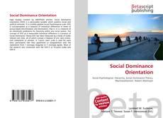 Buchcover von Social Dominance Orientation