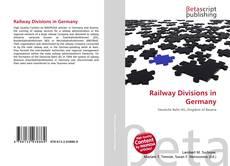Обложка Railway Divisions in Germany