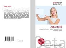 Agha (Titel)的封面