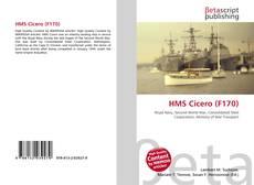 Bookcover of HMS Cicero (F170)