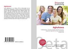 Buchcover von Aghahowa