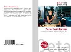 Social Conditioning kitap kapağı