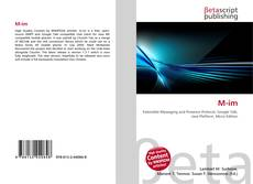 Bookcover of M-im