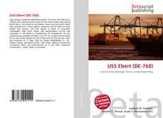 USS Ebert (DE-768)的封面