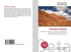 Обложка Fremont Culture
