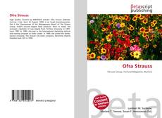 Bookcover of Ofra Strauss