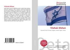 Yitzhak Olshan kitap kapağı
