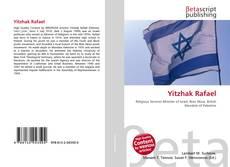 Yitzhak Rafael kitap kapağı