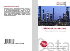 Bookcover of Offshore Construction