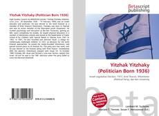 Bookcover of Yitzhak Yitzhaky (Politician Born 1936)