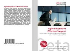 Bookcover of Agile Responsive Effective Support