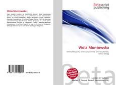 Bookcover of Wola Muntowska