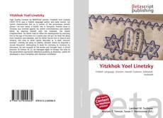 Portada del libro de Yitzkhok Yoel Linetzky