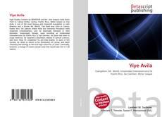 Capa do livro de Yiye Avila