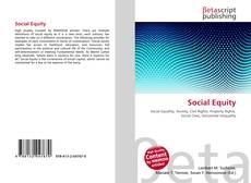 Обложка Social Equity