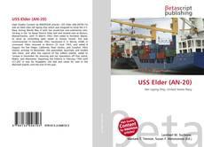 Portada del libro de USS Elder (AN-20)