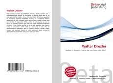 Buchcover von Walter Drexler