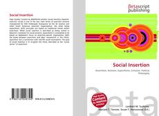 Social Insertion kitap kapağı
