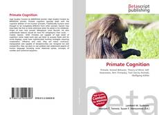 Bookcover of Primate Cognition