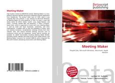 Buchcover von Meeting Maker