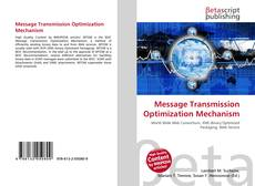Bookcover of Message Transmission Optimization Mechanism