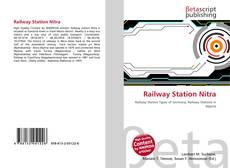 Buchcover von Railway Station Nitra
