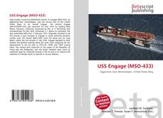 Bookcover of USS Engage (MSO-433)