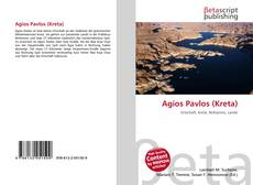 Bookcover of Agios Pavlos (Kreta)
