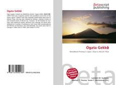 Ogata Gekkō kitap kapağı