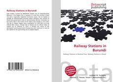 Bookcover of Railway Stations in Burundi
