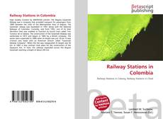 Bookcover of Railway Stations in Colombia